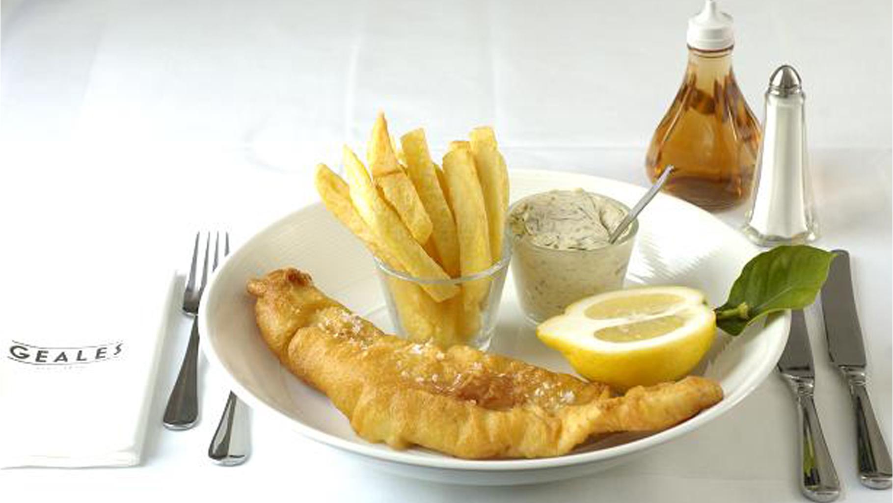 Light Bite Fish & Chips